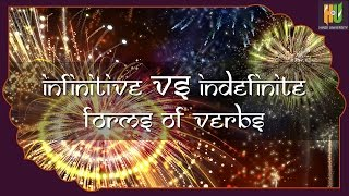 Learn Hindi: Infinitive vs. indefinite forms of verb -03