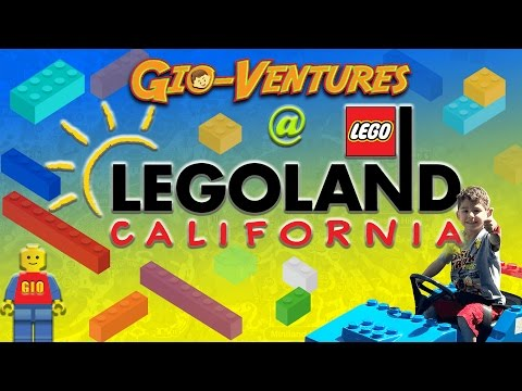LEGOLAND California 2017 Trip - Gio tours this must do and see amusement park in Carlsbad
