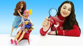 Мультик Барби. Барби в салоне красоты. Играем в куклы