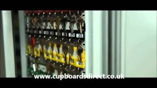 Floor Standing Key System Cabinets - www.cupboardsdirect.co.uk