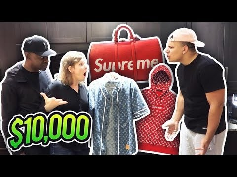 Thumbnail: MOM REACTS TO MY $10000 SHIRT (TRIES TO DELETE MY CHANNEL)