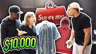 MOM REACTS TO MY $10000 SHIRT (TRIES TO DELETE MY CHANNEL)