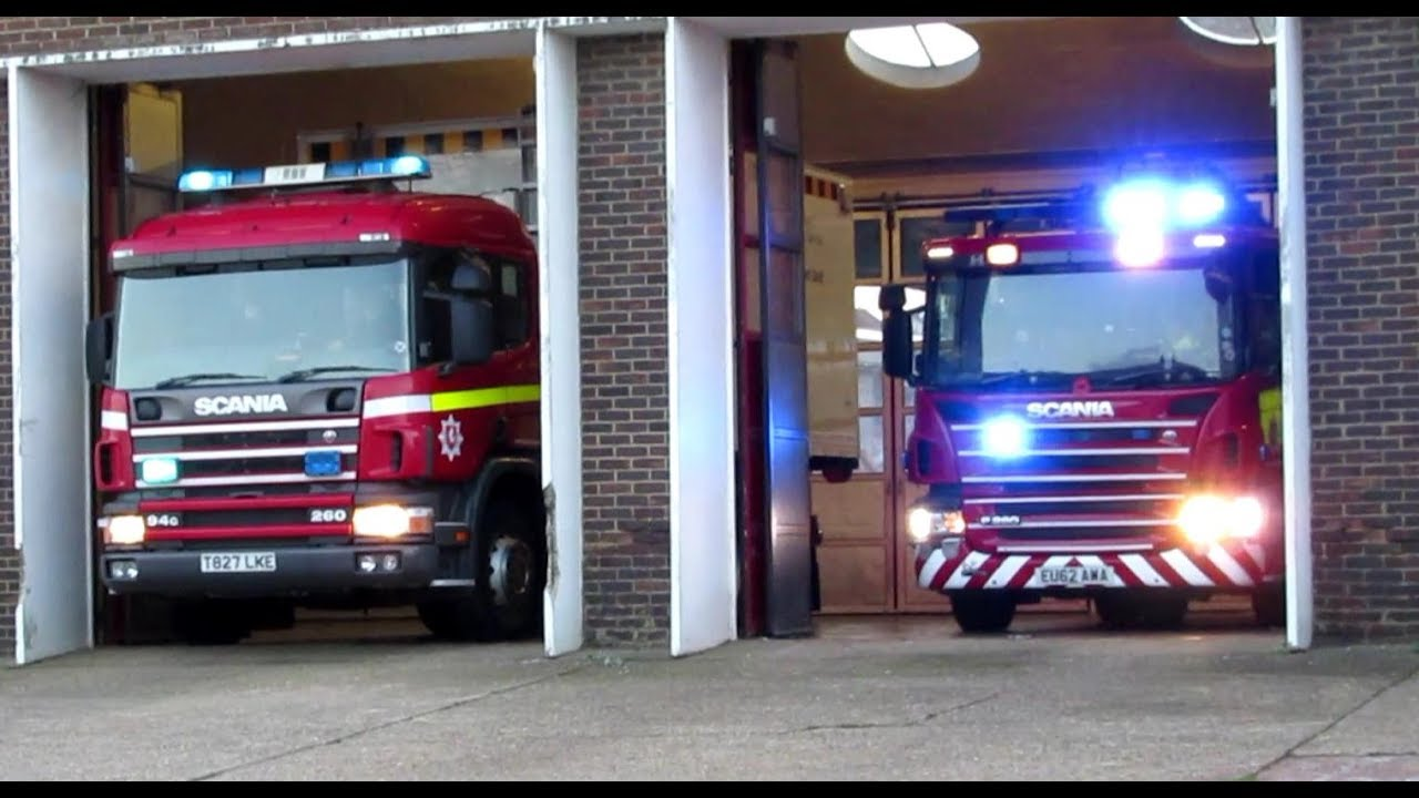 rare  - kent fire  u0026 rescue