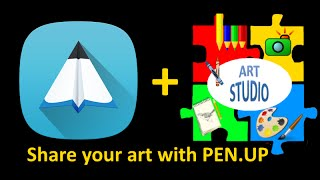 Share Your Art Studio Art with Samsung's PEN.UP screenshot 1