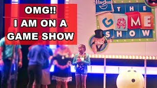 I Was On Hasbro Game Show on Carnival Cruise Valor