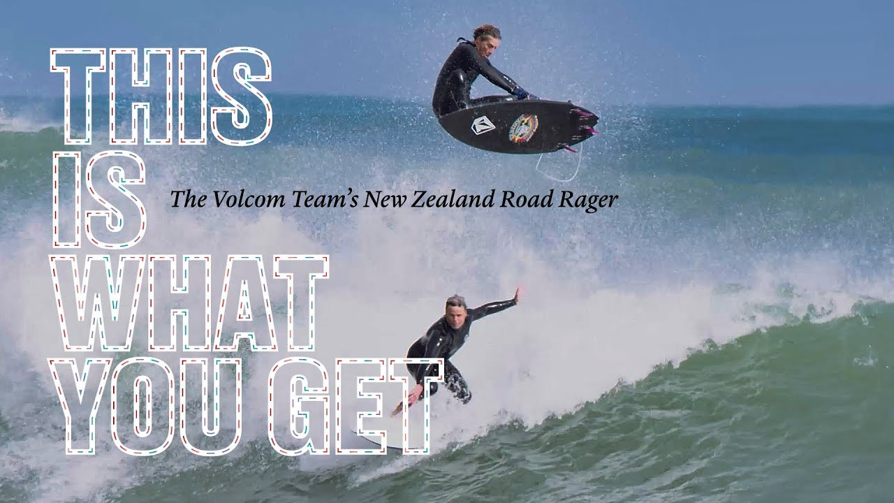 A New Zealand Road Rager feat. Noa Deane, Ryan Burch, Mitch Coleborn, Ozzie Wright and Luke Cederman