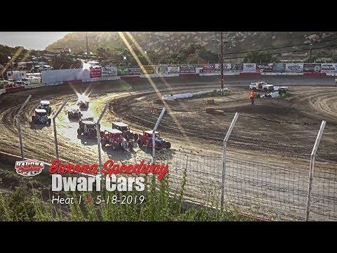 Barona Speedway Dwarf Car Heat 1 • 5-18-2019