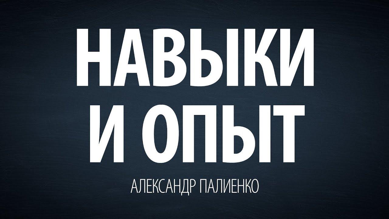 Александр Палиенко - Навыки и опыт.