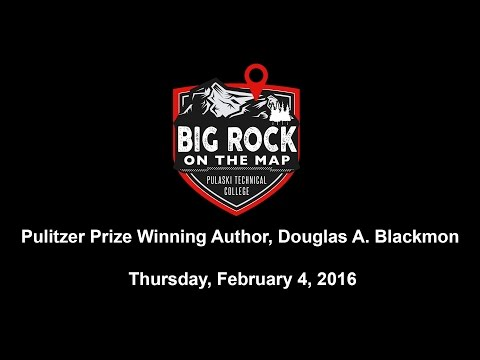 Pulitzer Prize Winning Author Douglas A. Blackmon speaks at Pulaski Technical College