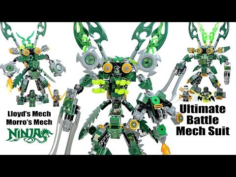 Ninjago Ultimate Possession Battle Mech Suit Lloyd & Morro 2-in-1 Unofficial LEGO Set