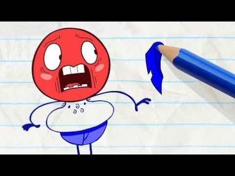Pencilmation   Pencilmate Loses his Shirt! -in- WELL OFF - Pencilmation Cartoons for Kids  # 29