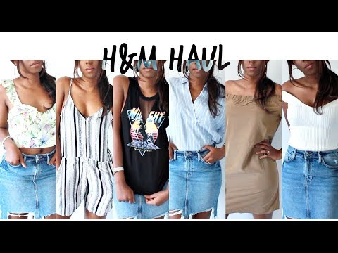 H&M Haul - Summer Wardrobe Essentials Online Shopping Order for #HAULWEEK | Style With Substance