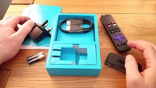 Roku Express Unboxing, Setup and Review (UK Version)