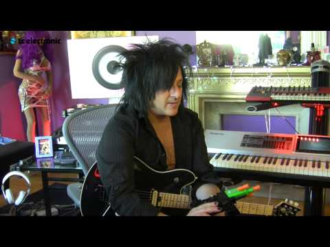 Steve Stevens Demonstrates How To Use A Ray Gun With Your Guitar