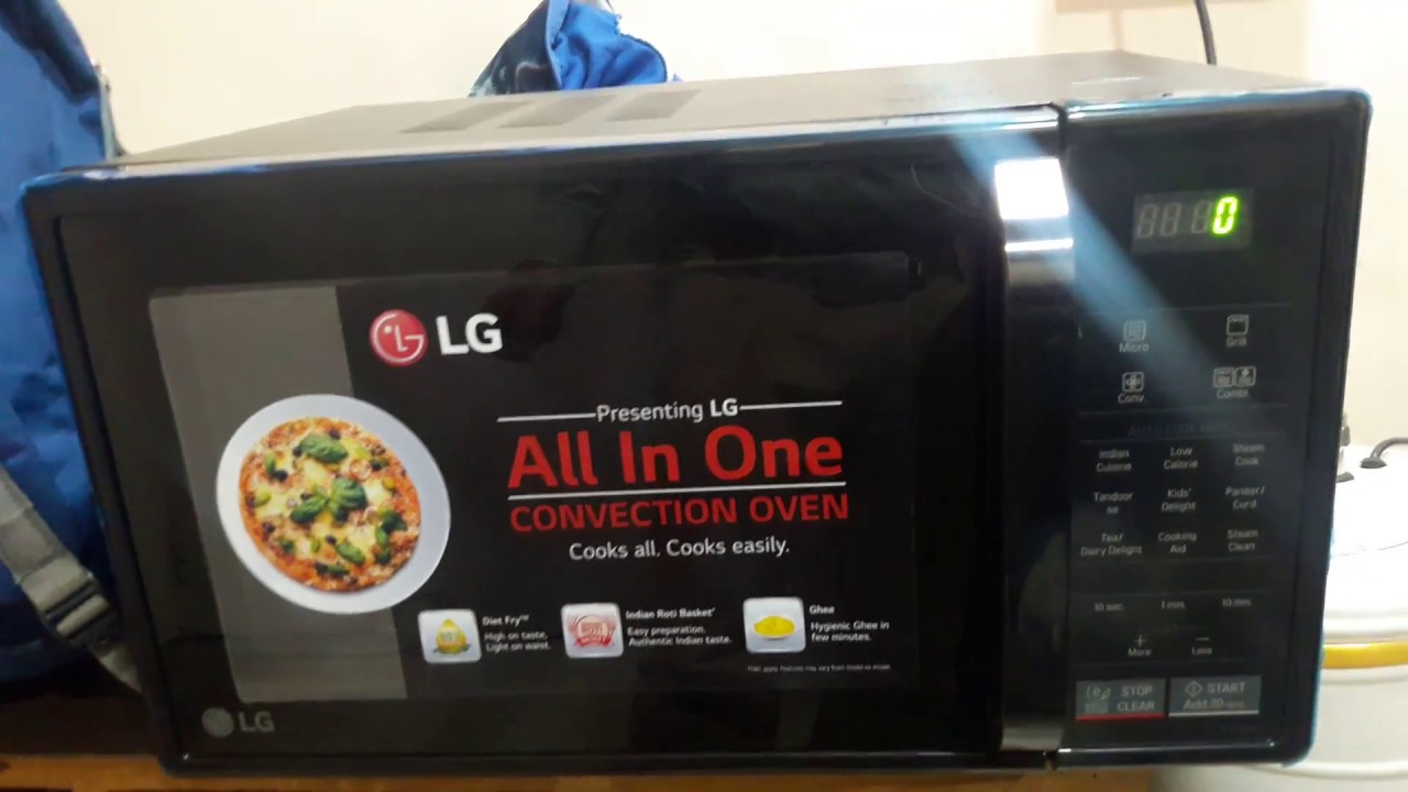 How To Use Lg 21 Liter All In One Convection Microwave Oven Model Mc2146bl Full Demo