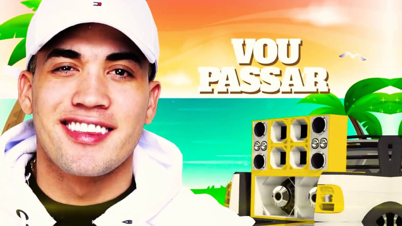MC Brisola - Vou Passar Loucão (DJ 7B) Lyric Video