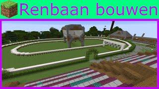 Renbaan bouwen! | Minecraft