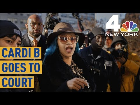 Cardi B Finds Out About Grammy Nominations During Court Appearance | News 4 New York Mp3