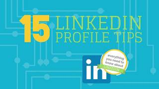 15 Tips to a Smart Linkedin Profile that will help you network and get searched by recruiters
