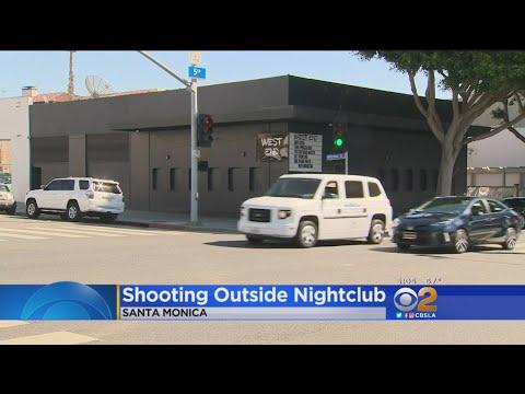 Police Investigate Shooting Outside Santa Monica Nightclub