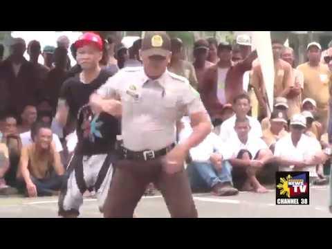 DANCING INMATES & PRISON GUARD NG IWAHIG PRISON AND PENAL FARM #PuertoPrincesaCity #Palawan