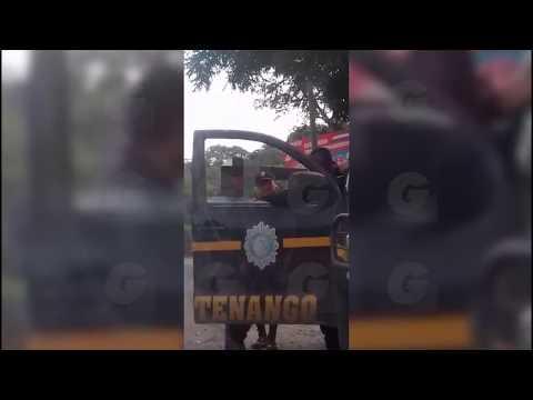 #GuateReporta: Agentes de PNC de Huehuetenango son grabados mientras cobraban soborno de Q50