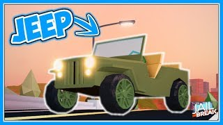 NEW Jeep & Prison Leaks! | Jailbreak Update Soon - Roblox