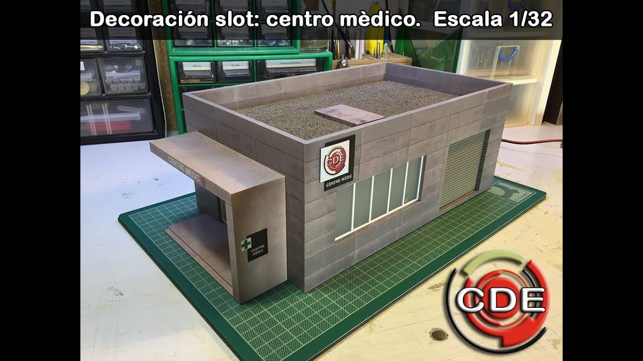 decoraci n slot centro medico 1 32 youtube