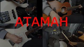 "Кавер на песню ""Атаман"". Группы ""Кино"". Гитары, бас, барабаны."