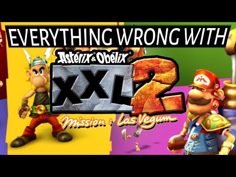 Everything Wrong With Asterix & Obelix XXL 2 in many minutes or less  