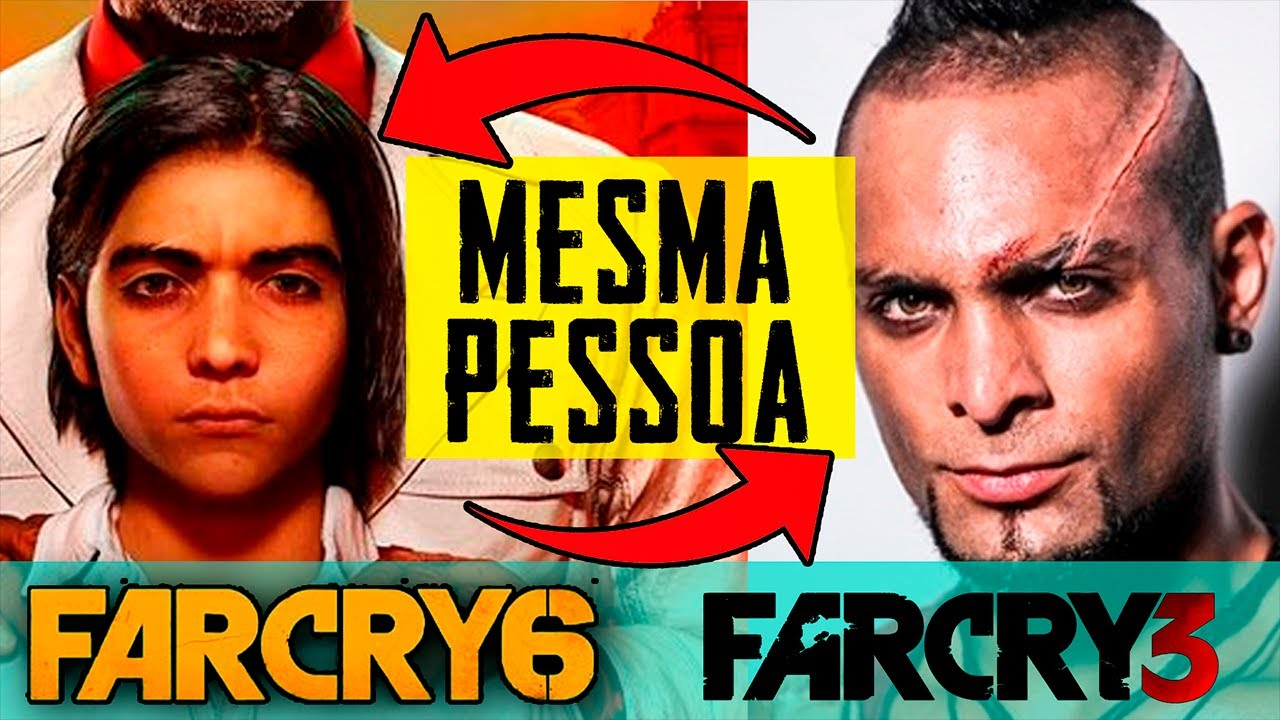 Far Cry 6 Diego Castillo E O Vaas Do Far Cry 3 Youtube