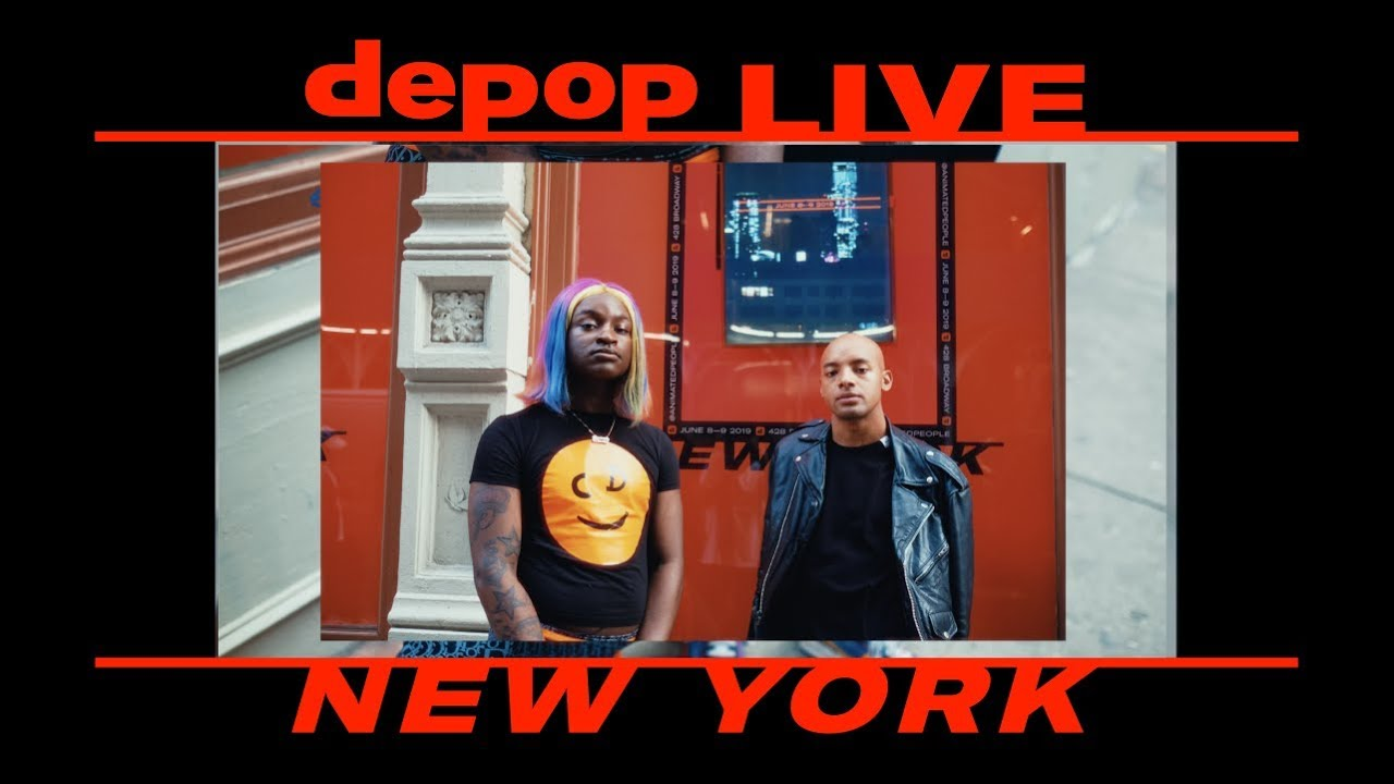 c7d385af049 No Sesso | Aja The Kween | Maliibu Miitch | Heron Preston | Depop Live New  York