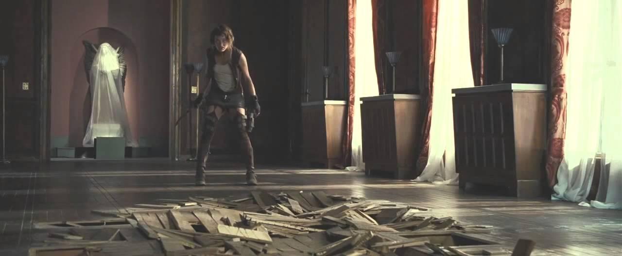 Resident Evil Extinction Tyrant Boss Fight Hd