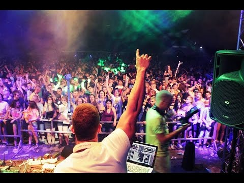 Igor Garnier Live @ Atlantis Garden (Holi Color Party) - Tresnjevac