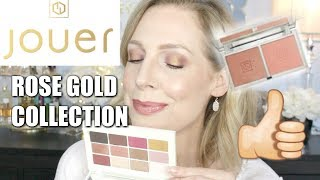 JOUER ROSE GOLD COLLECTION | YAY OR NAY?