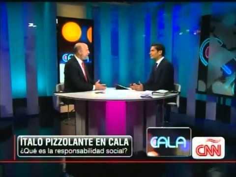 CNN En Español, Entrevista de Italo Pizzolante en Cala, RSE