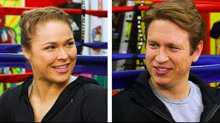 In The Ring With Ronda Rousey