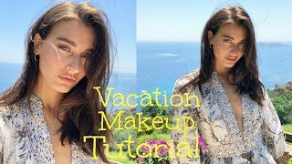 Vacation Makeup Tutorial | Saint Tropez Vacation Make-up Look | Jessica Clements
