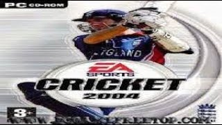 EA SPORTS CRICKET 2004 highly compressed 350 mb siz pc game