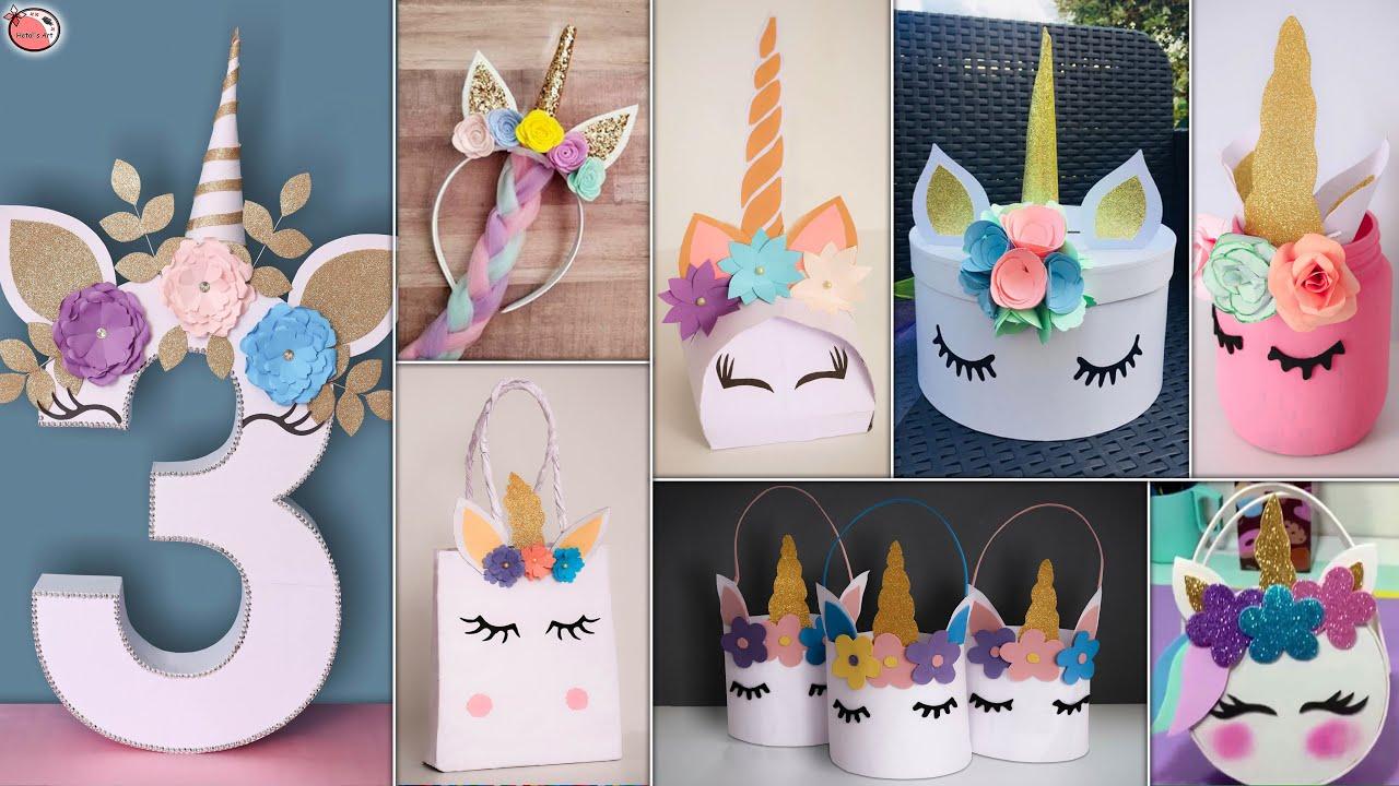 Trendy! Unicorn 🦄 Idea - For DIY Room Decor, Party l Decoration, Baby shower Etc.