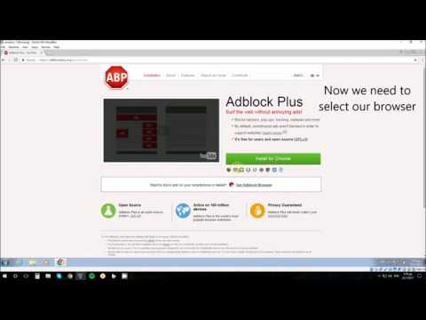 How to: install Adblock