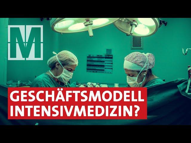 Profit vor Patientenwohl? Intensivstationen in Krankenhäusern – MONITOR