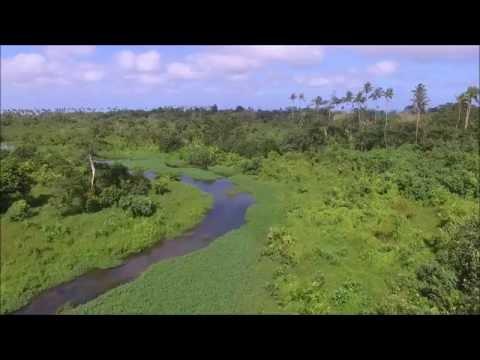 Tourin' around samoa with drone - shortclip