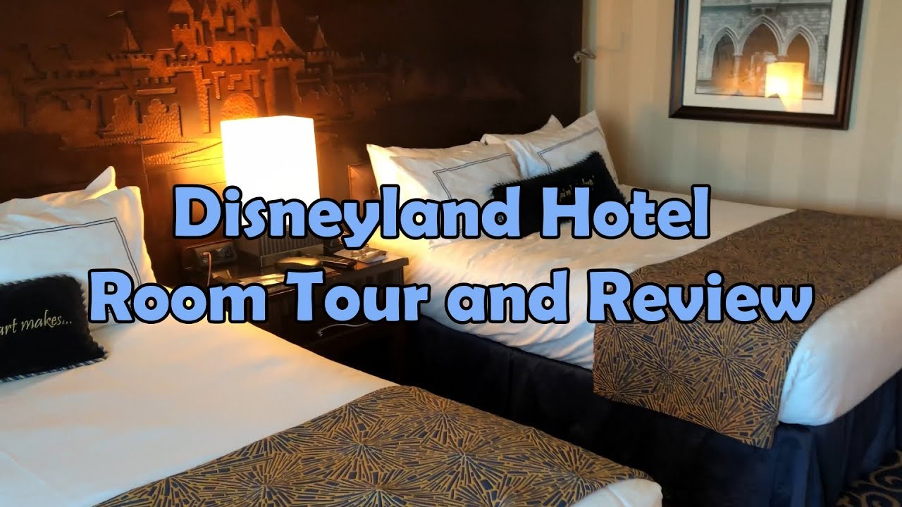Disneyland Hotel Standard Room Tour and Review