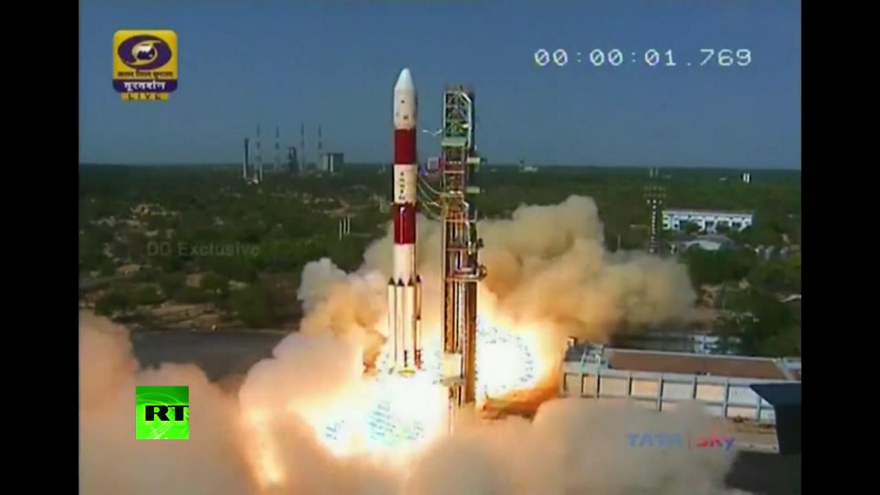 Индия успешно запустила ракету с 31 спутником