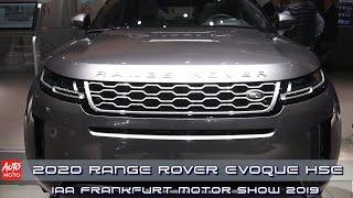 2020 Range Rover Evoque HSE - Exterior And Interior - IAA Frankfurt Motor Show 2019