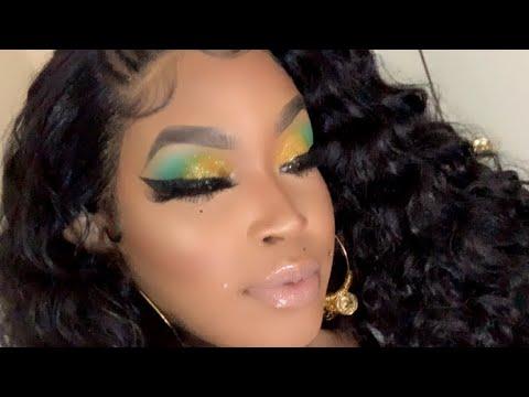 colorful eyeshadow /beginner friendly makeup look  youtube
