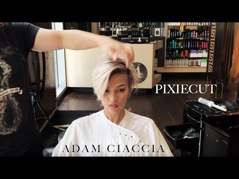 How to Create a Long Pixie/Short HairCut - By Adam Ciaccia