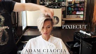 Comment Créer une Longue Pixie/de coiffure Courte - Par Adam Ciaccia