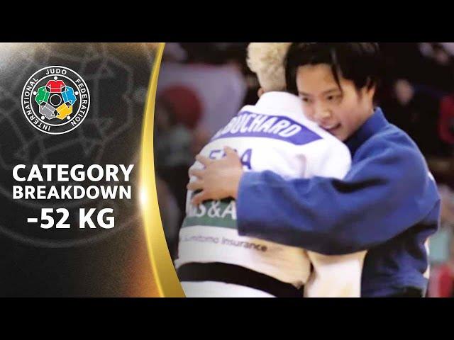 CATEGORY BREAKDOWN: -52 kg